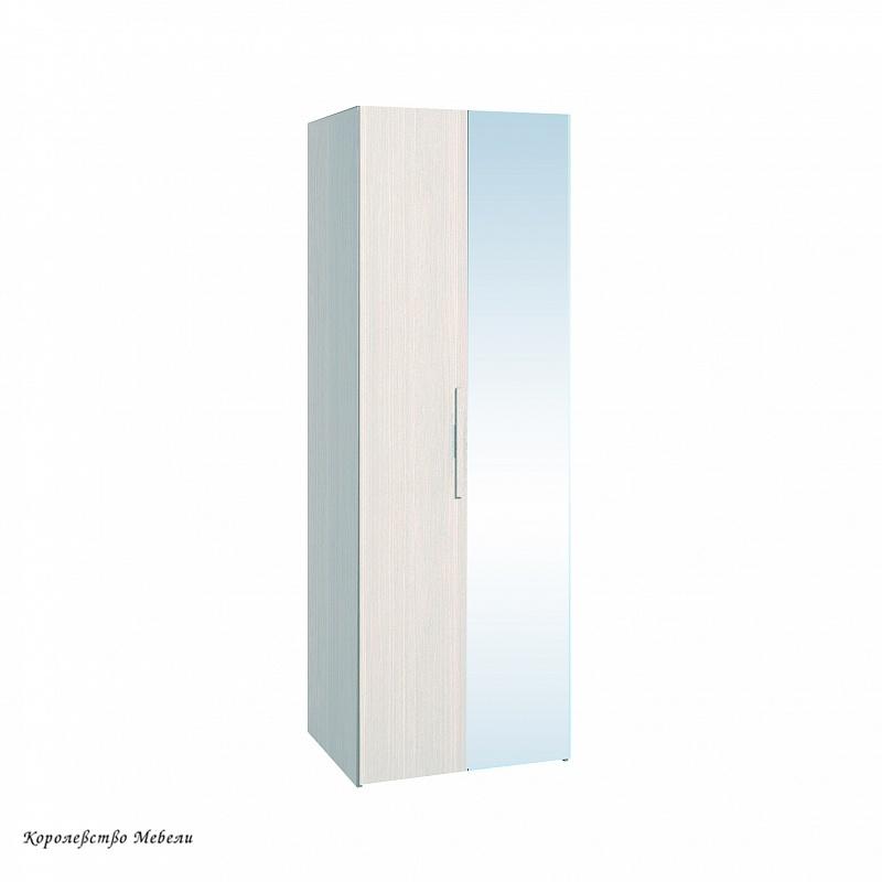 BAUHAUS 8 Шкаф для одежды (фасад стандарт+зеркало)