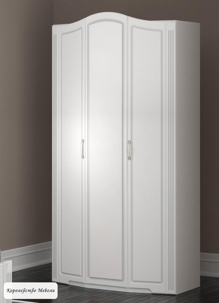 Виктория 9 Шкаф для одежды 3-х дв. (б/зерк)