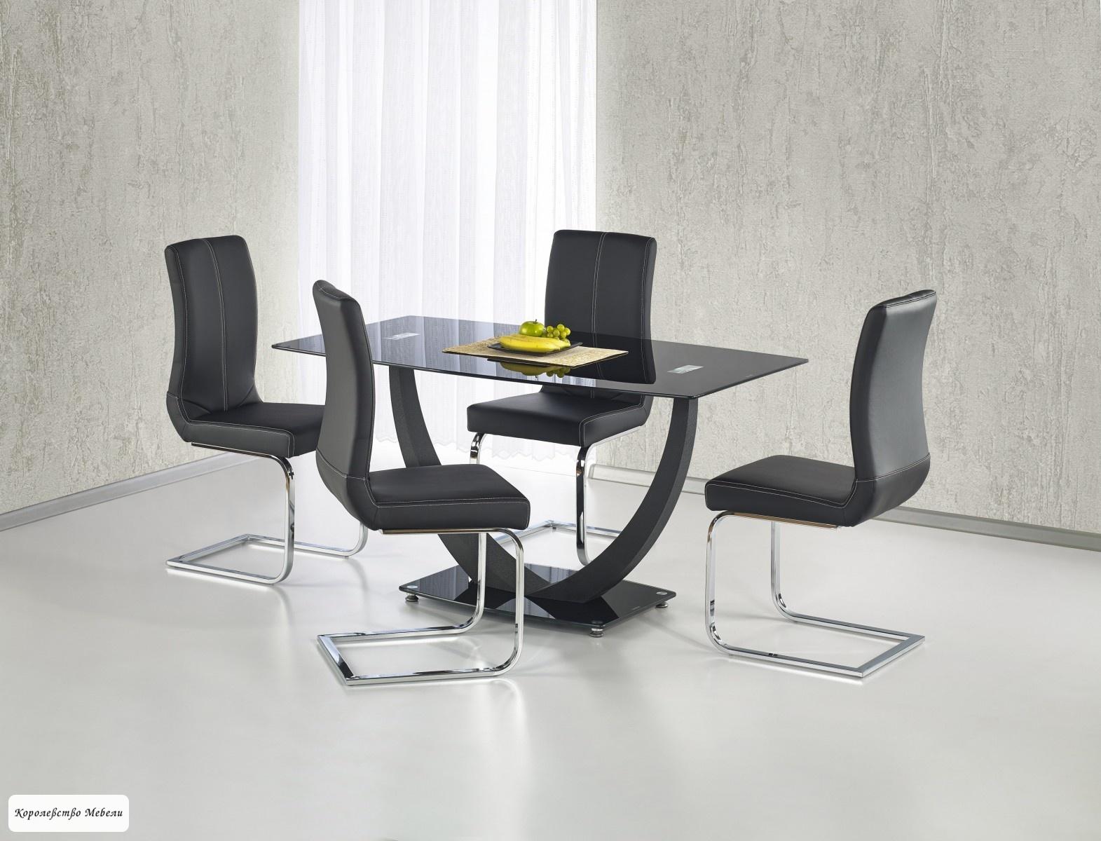 Стол стеклянный  ANTON (140)