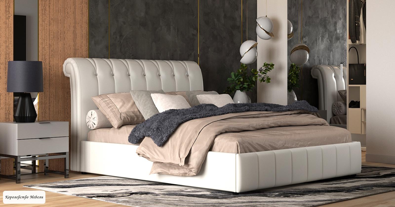 Кровать Августа (160*200), без основания