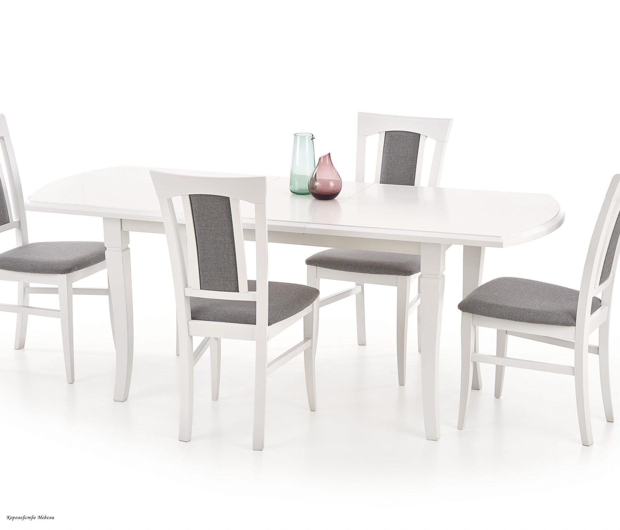 Стол раздвижной  FRYDERYK (160--200)  (белый)