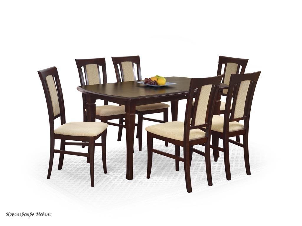Стол раздвижной  FRYDERYK (160--240)  (т. орех)