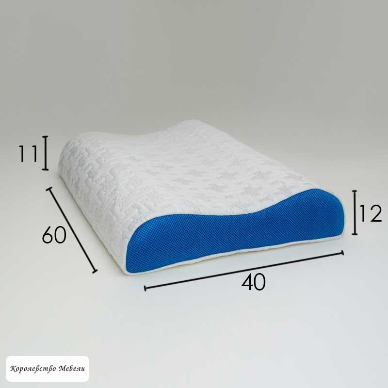 Ортопедическая подушка  Фабрика сна Латекс -3