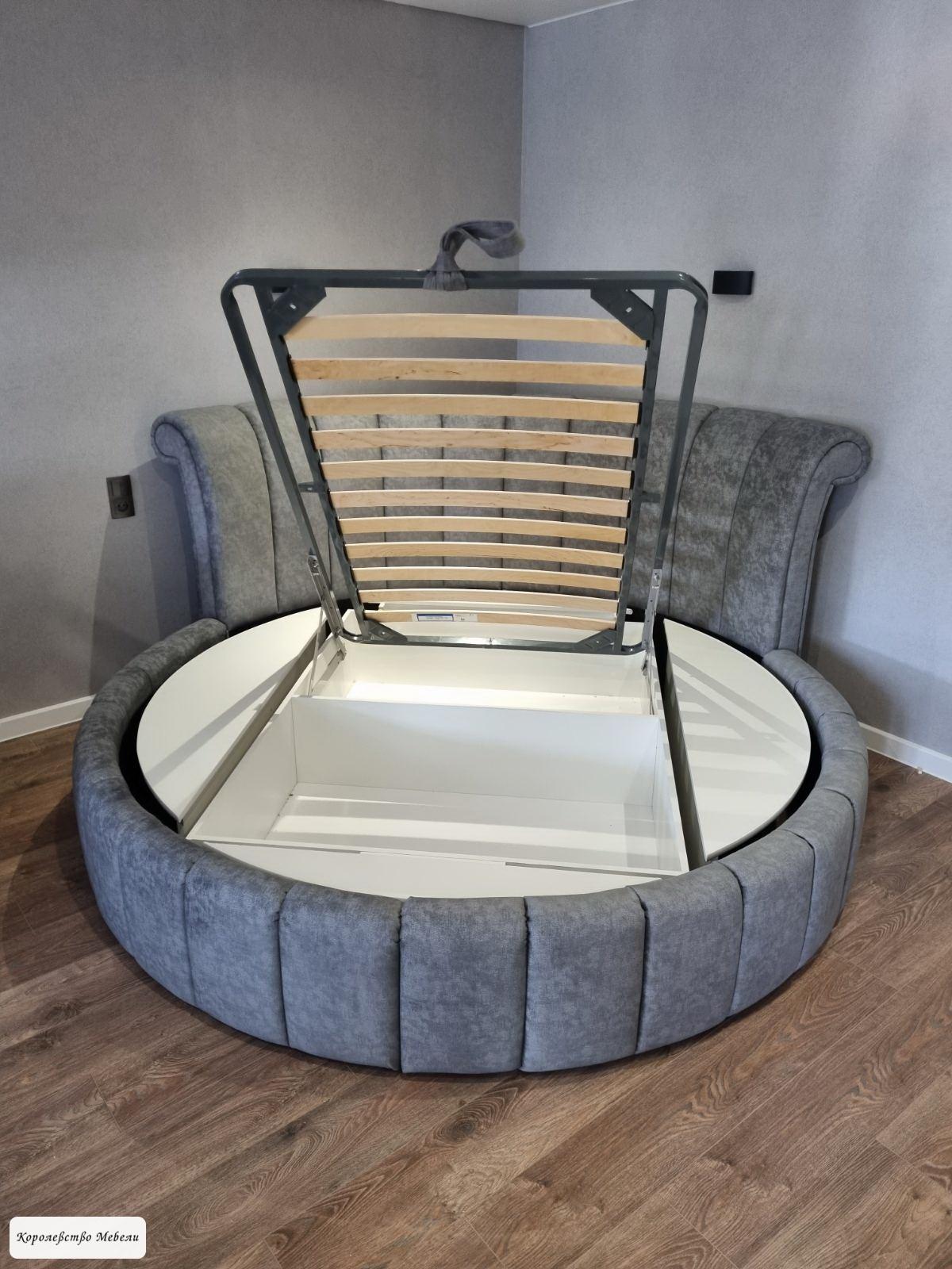 Подъемный механизм для круглых кроватей.