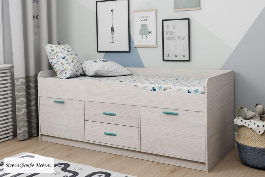 Кровать Каприз 18 (80*180), без рисунка