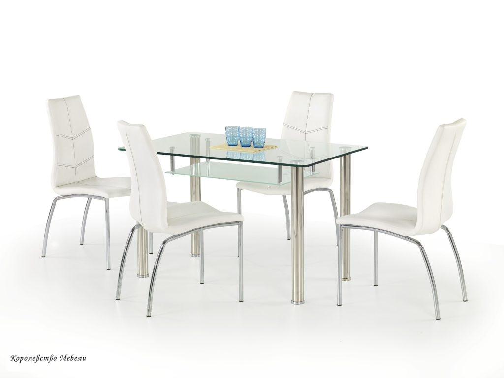Стол стеклянный OLIVIER (120*69)