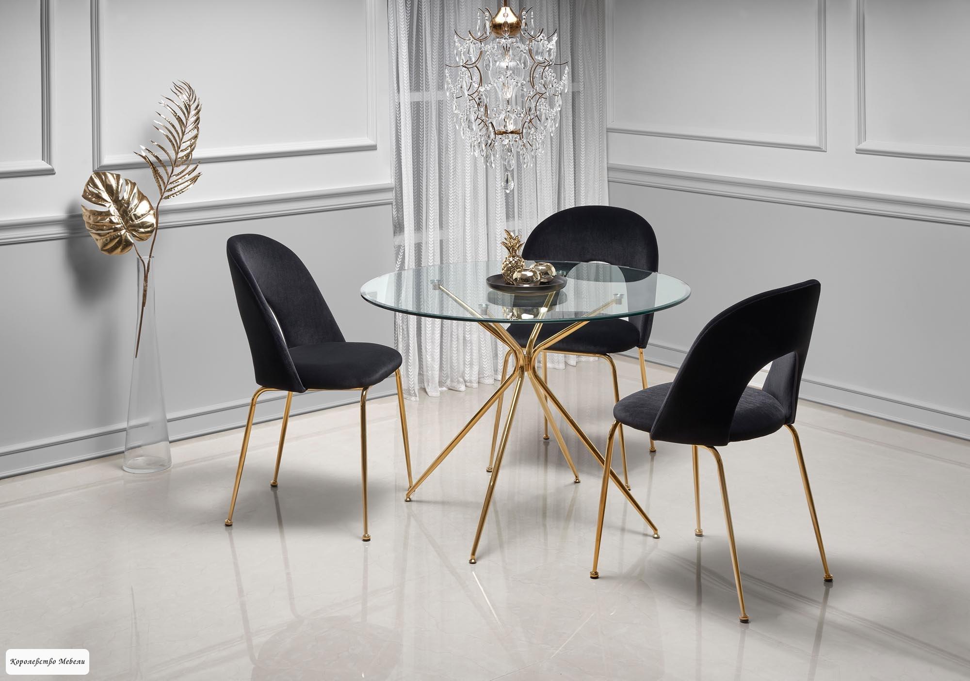 Стол стеклянный RONDO (110)