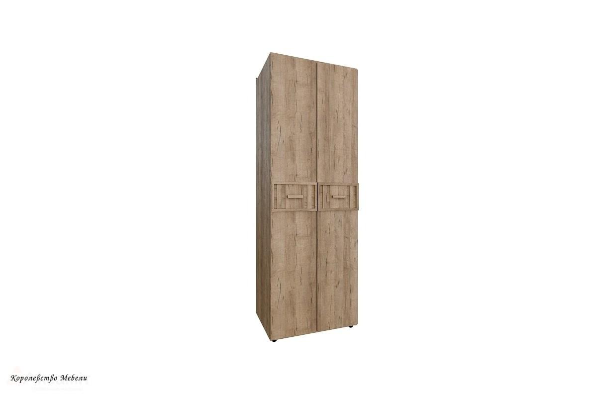 Шкаф для одежды SCANDICA OSLO 54 стандарт/стандарт