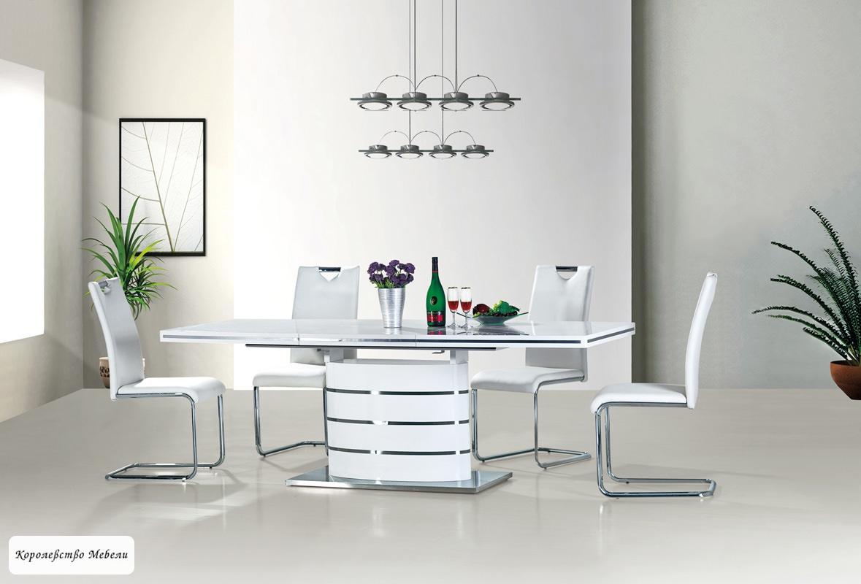 Стол раздвижной FANO (180--240) (белый)