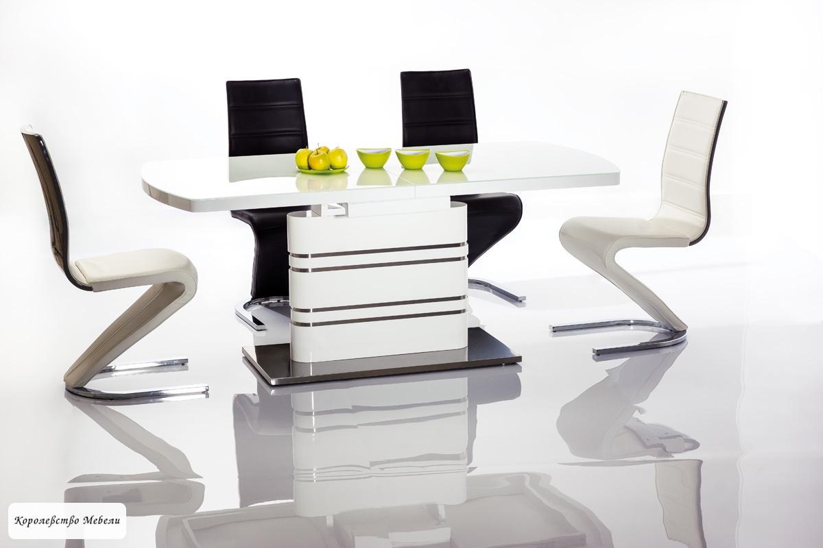 Стол раздвижной GUCCI (140--200) (белый)