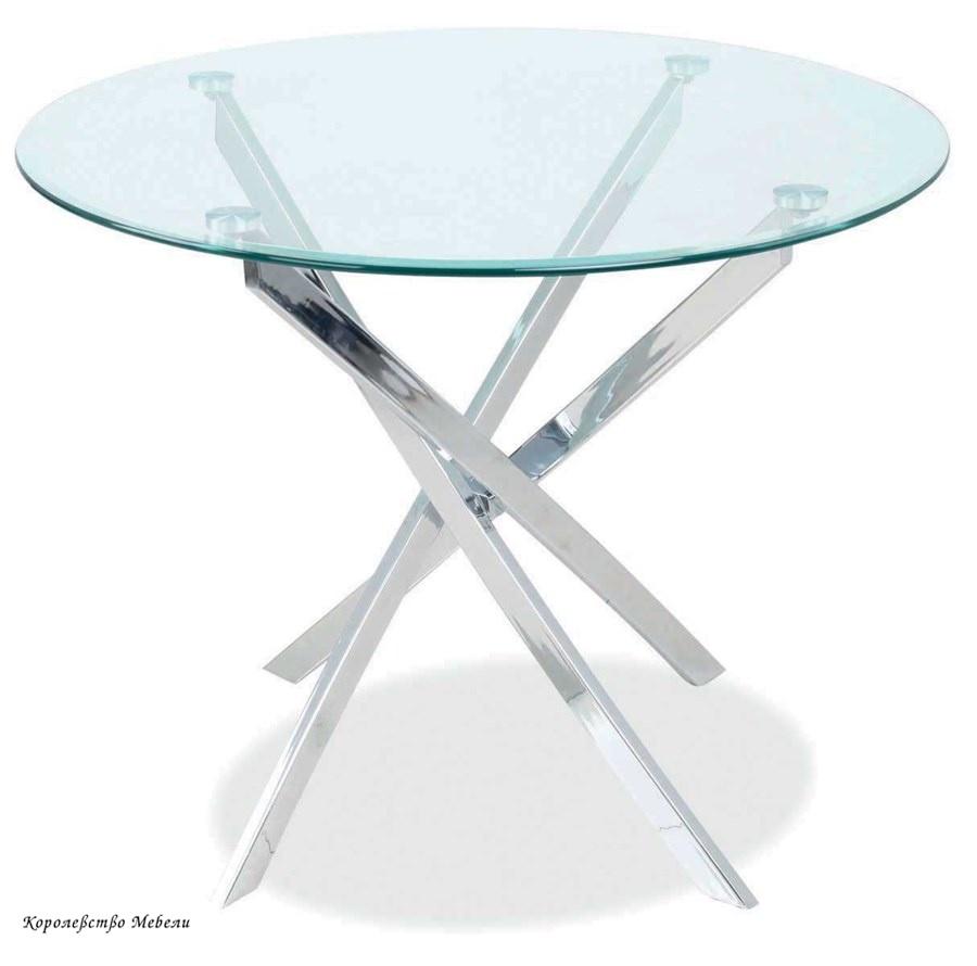 Стол  стеклянный  AGIS (90)