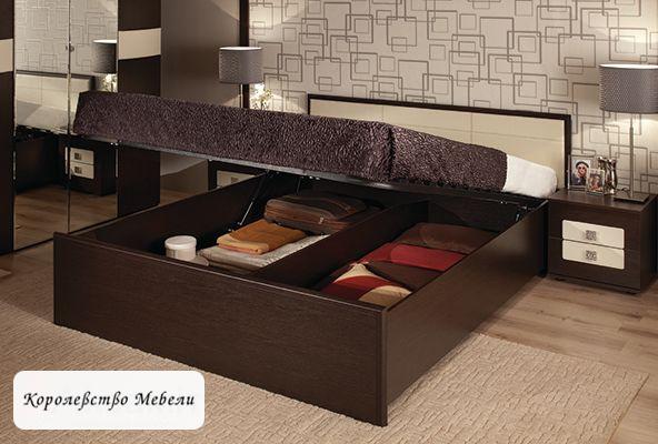 Кровать Амели, с подъемным механизмом