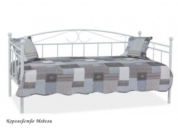 Кровать Ankara (90*200) белая,с основанием