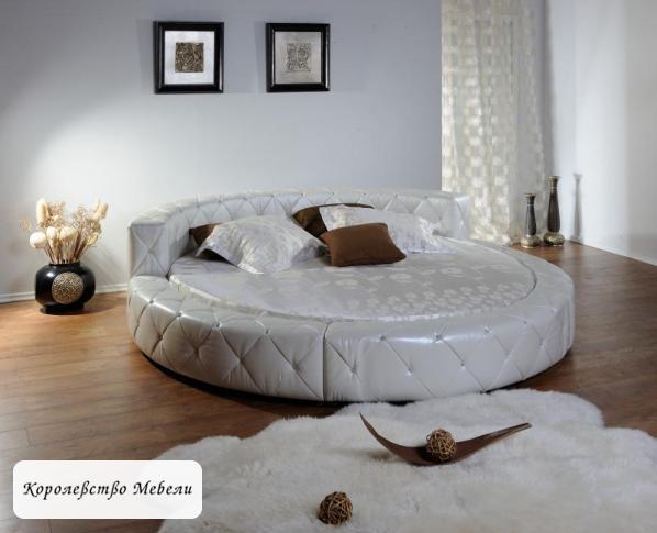 Круглая кровать Сона