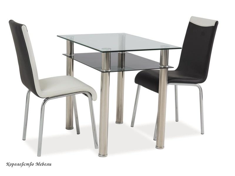 Стол стеклянный MADRAS (90*60)