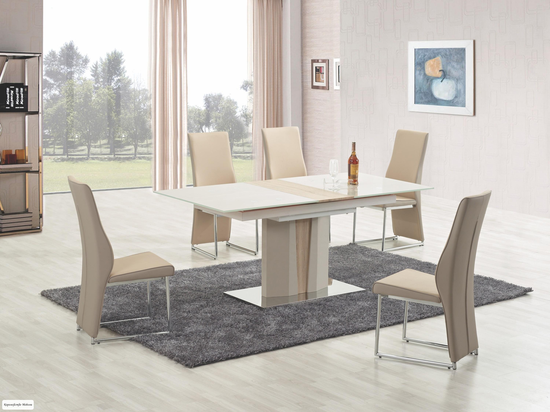 Стол раскладной CAMERON (150--180) (шампань/дуб сонома)