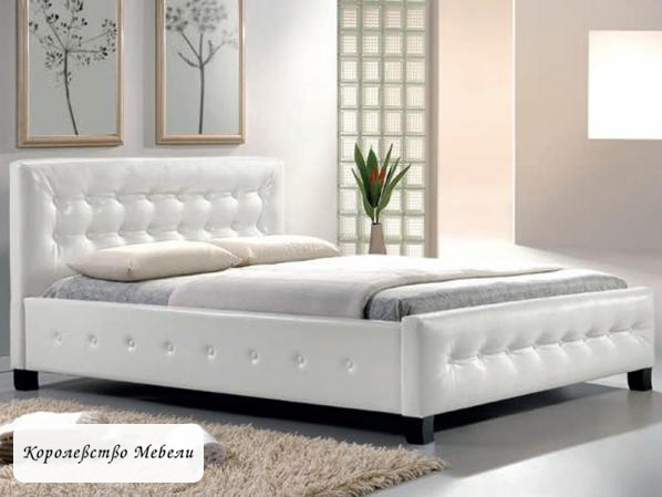 Кровать BARCELONA (160*200) белый,с основанием