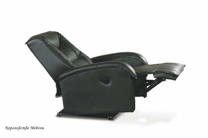 Кресло-реклайнер JEFF (черный)
