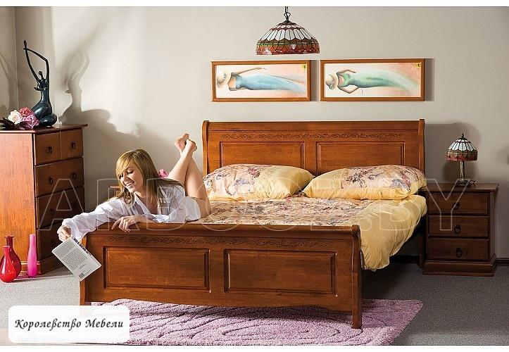 Кровать BOSTON (160*200), с основанием