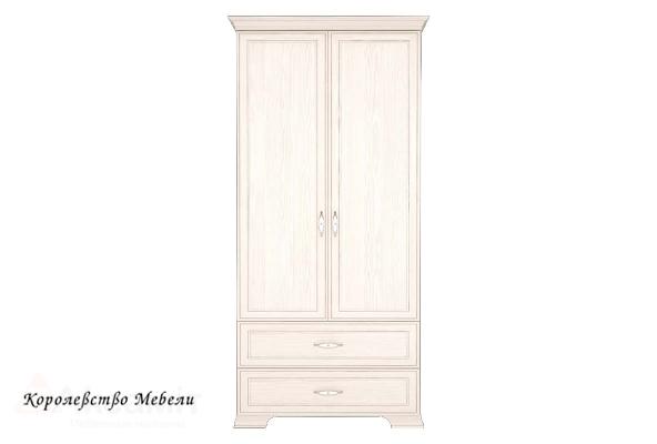 Венеция 17 Шкаф для одежды 2-х дв. с ящиком