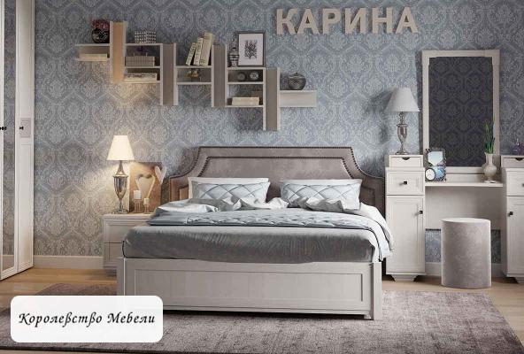 Кровать Карина Люкс ,без основания