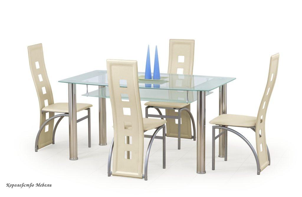Стол стеклянный Cristal (150*90)