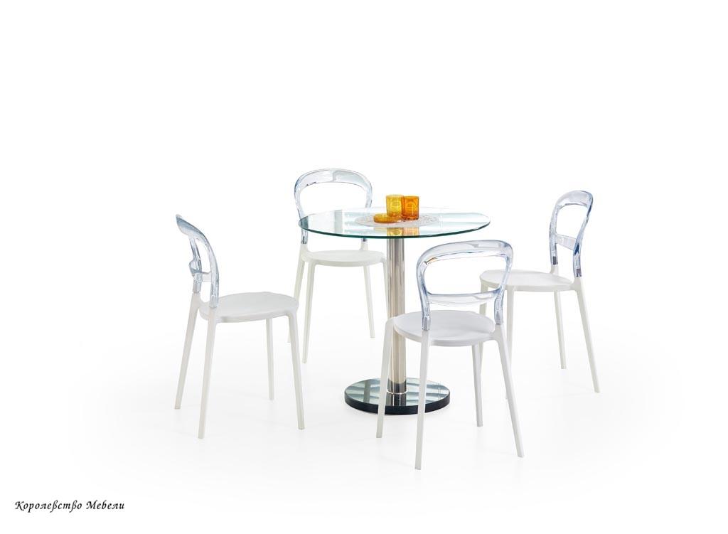 Стол стеклянный CYRYL (80)