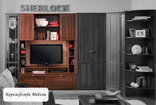 Sherlock 1 Шкаф МЦН орех шоколадный