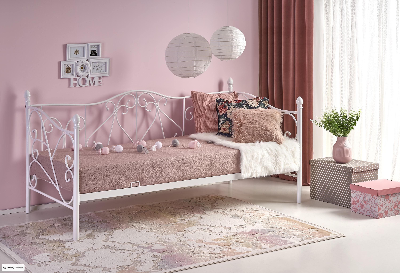 Кровать Sumatra (90*200) белая, с основанием
