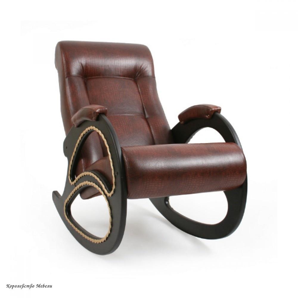 Кресло-качалка. Модель 4 (с лозой)