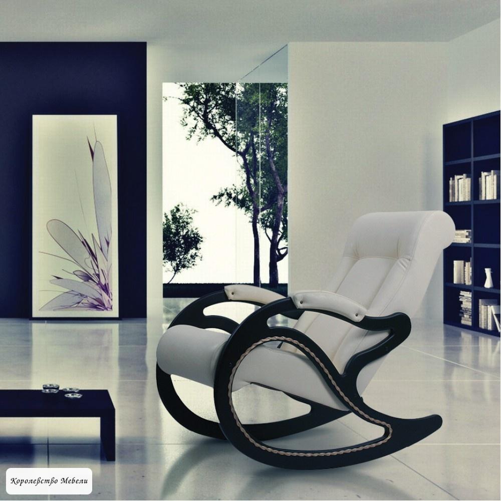 Кресло-качалка.Модель 7 (с лозой)