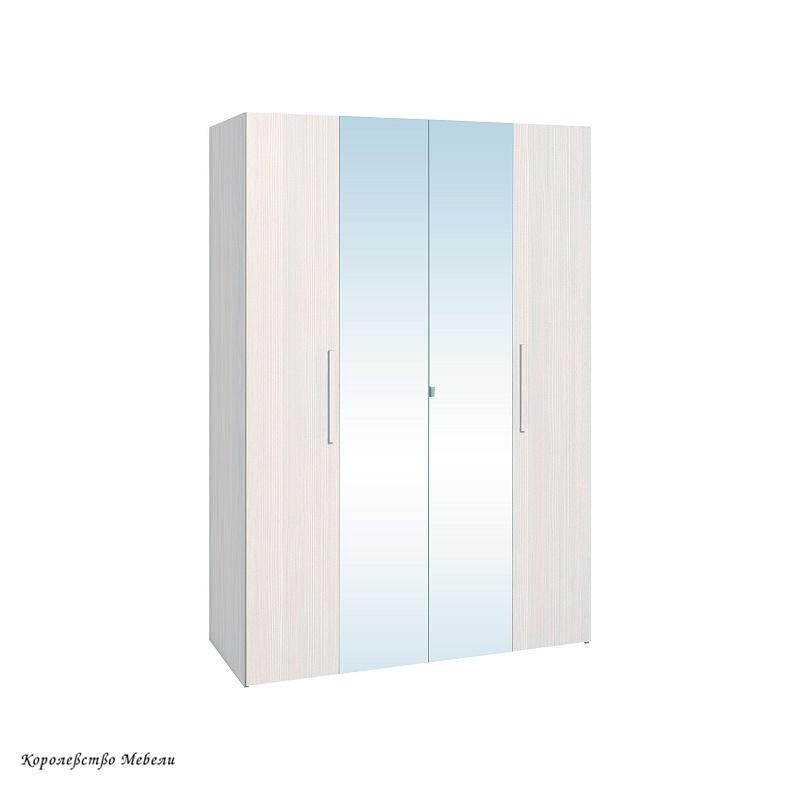 BAUHAUS 9 Шкаф для одежды и белья (бодега светлый)