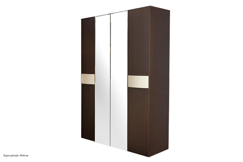 Амели 555 Шкаф для одежды и белья (венге)