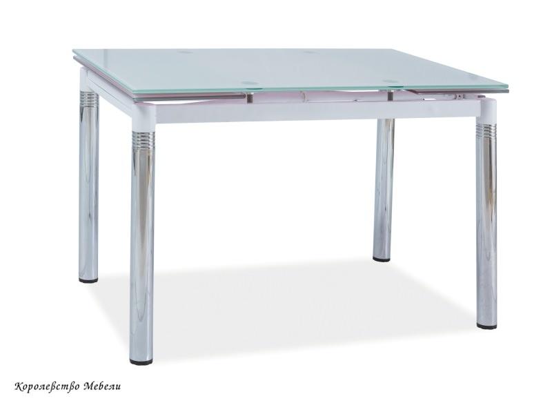 Стол раздвижной GD-018 (74-110(170) белый