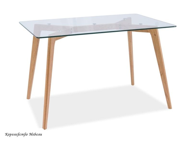 Стол  стеклянный  OSLO (120*80)