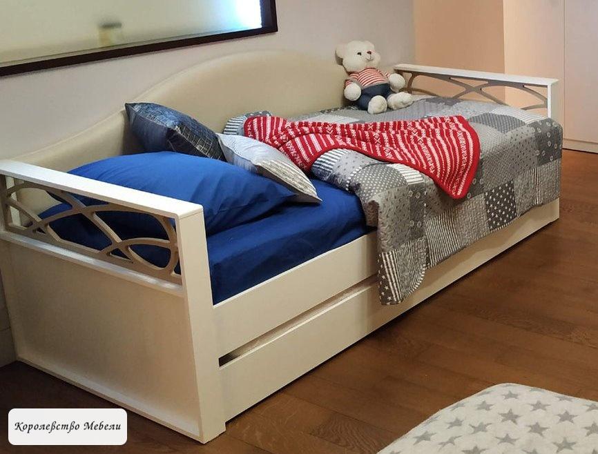 Кровать-диван Саманта СМ3а (90*200) без ящика, с основанием