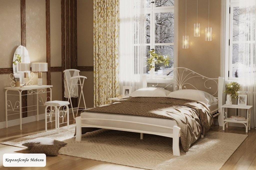 Кровать Фортуна-4 Лайт (белый)