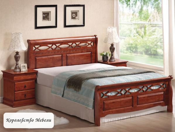 Кровать GENEWA (160*200), с основанием