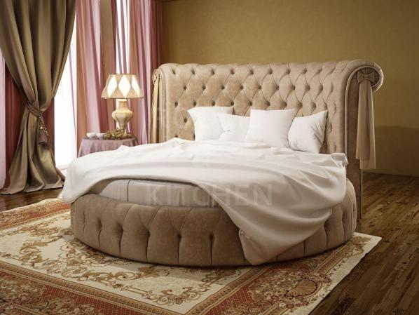 Круглая кровать Сабрина-2