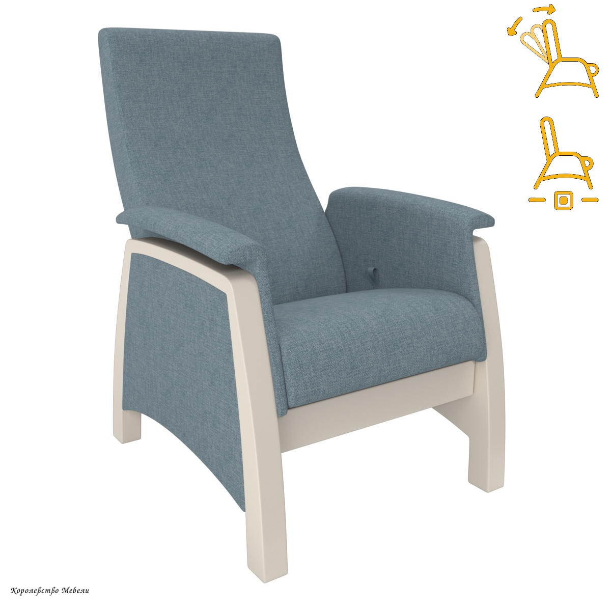 Кресло-глайдер. Модель 101 (раскладное)