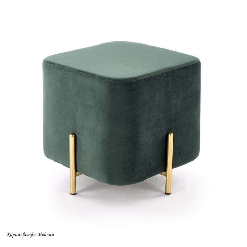 Пуф CORNO (т.зеленый)