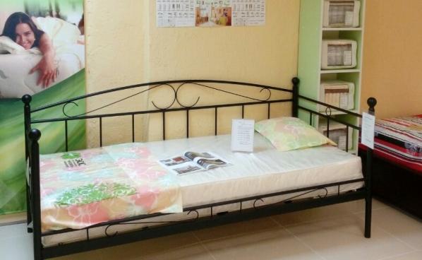 Кровать Ankara (90*200) черная,с основанием