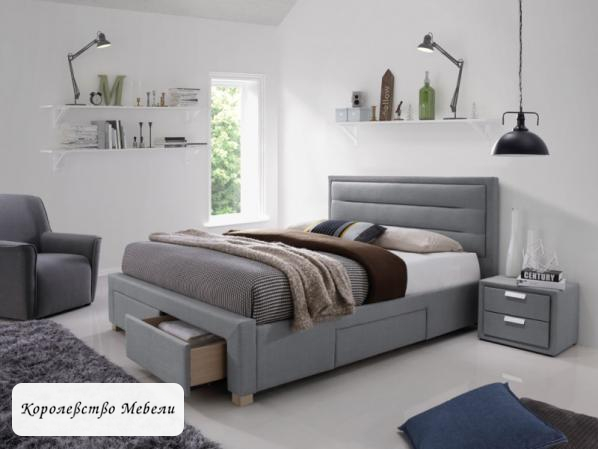 Кровать INES (160*200) , с ящиками