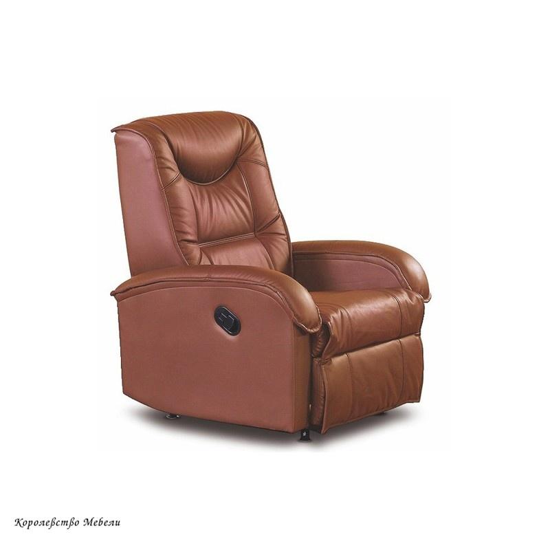 Кресло-реклайнер JEFF (коричневый)