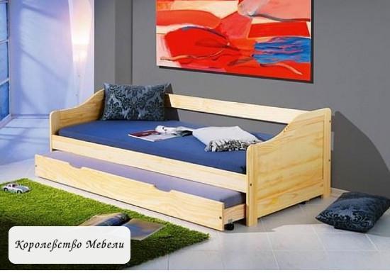 Кровать  LAURA (90*200) с основанием