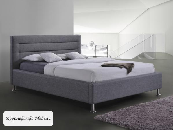 Кровать двуспальная LIDEN  (160*200) , с основанием