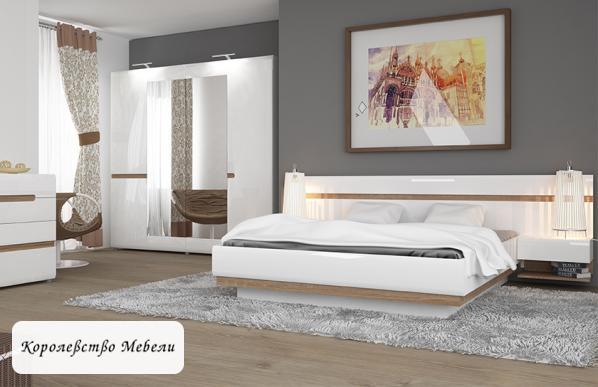 Кровать Линате, с основанием