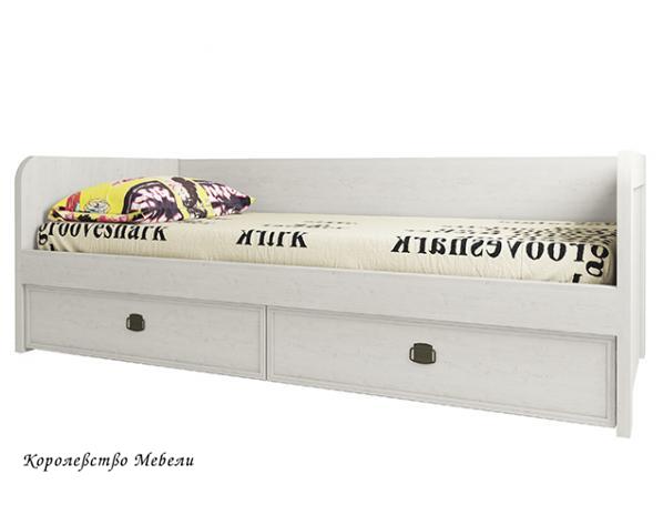 Кровать Магеллан-2 (90*200) с ящиками (сосна винтаж)
