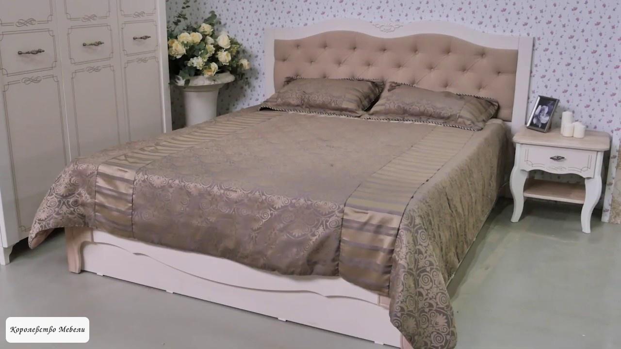 Кровать Элен, с подъёмным механизмом и мягкой спинкой