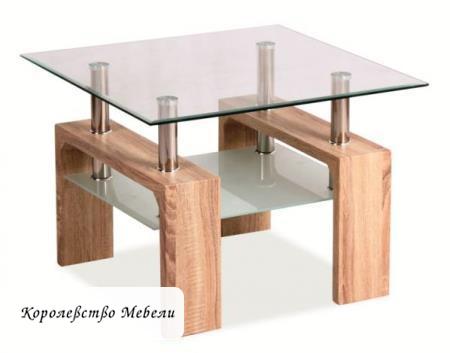 Журнальный столик Lisa D Basic (дуб сонома)